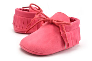 2017 Fashion Newborn Infant Shoes Hand Made Baby Shoes pictures & photos