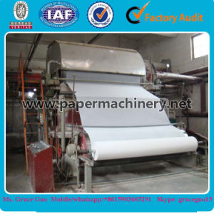 Factory Price of Toilet Paper Line 5tpd 1880 Type Tissue Paper Sanitary Toilet Paper Production Line for Sale pictures & photos