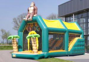 Big Jungle Kingkong Inflatable Playground Slide for Sale pictures & photos