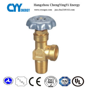 CNG Aluminum Alloy Lined Cylinder Oxygen Gas Cylinder Valves pictures & photos