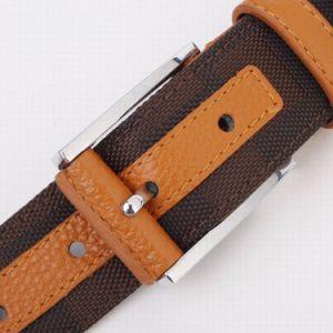 Leather and Canvas Men Belt (SR-13041A) pictures & photos