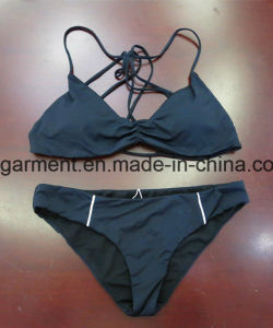 White Solid Color Beachwear Bikini for Women Man/Girl, Swimming Wear pictures & photos