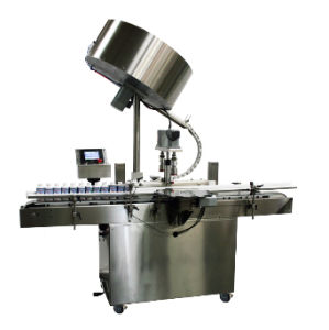 Full Semi Automatic Screwing Cap Capping Machine pictures & photos