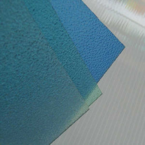 Clear Frosted Polycarbonate Sheet for Chair Mat/Frosted PC Sheet pictures & photos