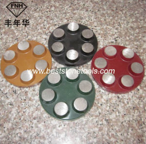 Concrete Diamond Grinding Polishing Pad with Velcro pictures & photos