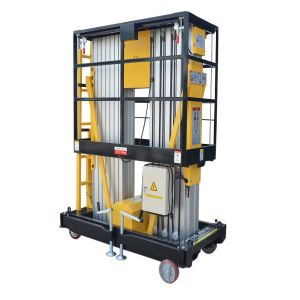 10m Mobile Hydraulic Aerial Lifting Platform for Maintenance pictures & photos