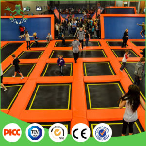 ASTM and TUV Approved Adult Indoor Trampoline Park and Ninja Warrior Course pictures & photos