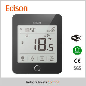 WiFi Floor Heating Wireless Thermostat Ios/ Android APP Supported pictures & photos
