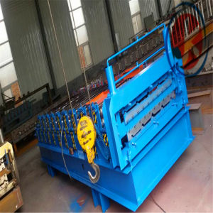 High Speed Automatic Double Layer Metal Roof Wall Panels Foming Machine pictures & photos