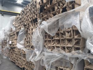 Powder Coated Galvanized Steel Fencing Square Posts pictures & photos