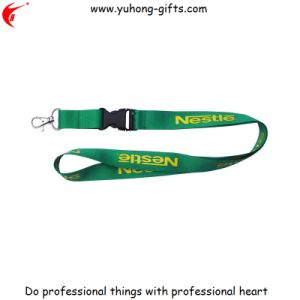Wholesale Double Clip Custom Fashion Lanyard with Logo (YH-L1239) pictures & photos