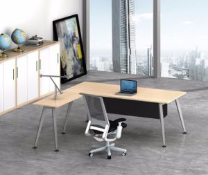 White Customized Metal Steel Office Executive Desk Frame with Ht70-2 pictures & photos