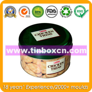 Round Tin Can for Metal Food Packaging, Food Tin Box pictures & photos