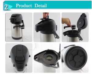 Thermos – Airpot 1.9 Litres, Wholesale Stainless Steel Lever Action Coffee Airpot pictures & photos
