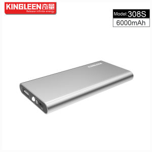 Kingleen Model C308s Power Bank 6000mAh Single USB 1A Output Factory Direct Sale pictures & photos