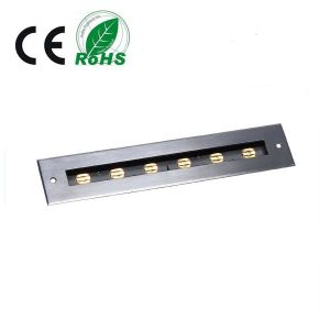 Stainless 6X1w/6X1.5W LED Floor Lights pictures & photos