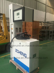 Zcheng Gas Station Knight Series LPG Dispenser with 2 Nozzle Emergency Switch pictures & photos