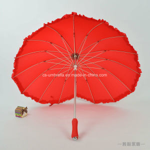 New Design Love Heart Shape Special Umbrella (YS-S007A) pictures & photos