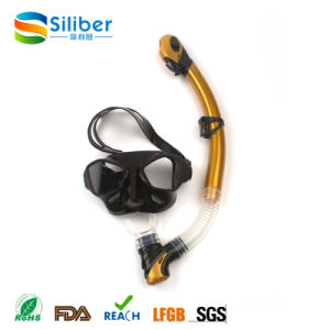 Health Material Dive Mask and Snorkel Manufacturing and New Style Diving Mask Freediving Goggles pictures & photos