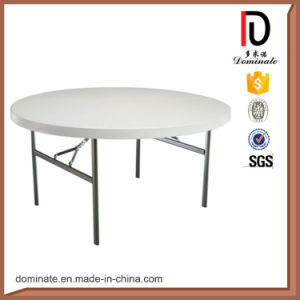 General Use Banquet Plastic Round Folding Half Moon Table pictures & photos