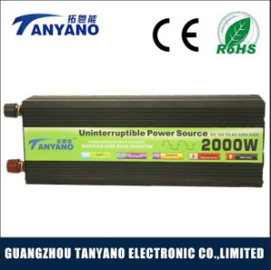 2000W DC to AC Modified Sine Wave Solar Inverter pictures & photos