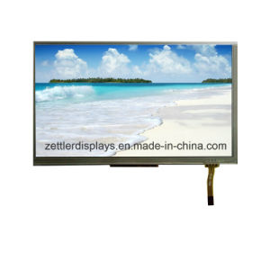 """Outdoor Use Sun Readable High Brightness 7"""" TFT Display Panel with Lvds Interface, Resistive Type ATM0700L6j-T pictures & photos"""
