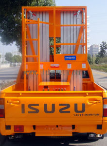 9meters Aluminium Hydraulic Mast Aerial Work Lift Platform (GTWY9-200S) pictures & photos