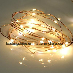 String Lights IP65 Waterproof Timer Function 3 Modes Starry Fairy String Lights Battery Powered pictures & photos
