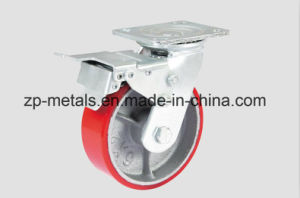 Heavy-Duty Aluminum PU with Whole Side Caster Wheel pictures & photos
