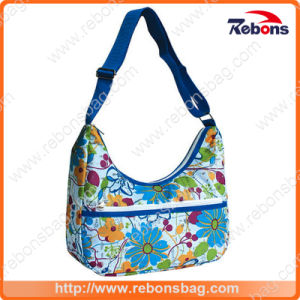Allover Pattern Flower Printed Handbags pictures & photos