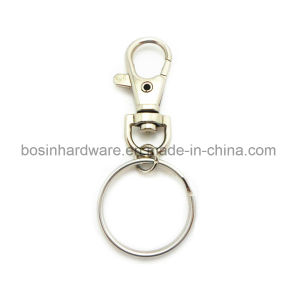 Metal Snap Hook Key Ring for Keychains pictures & photos