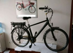Electric Bike Bicycle with Aluminum Frame pictures & photos