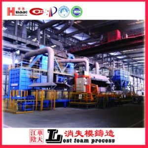 Annual Output of 30000 Tons of Lost Foam Casting Machine Production Line pictures & photos