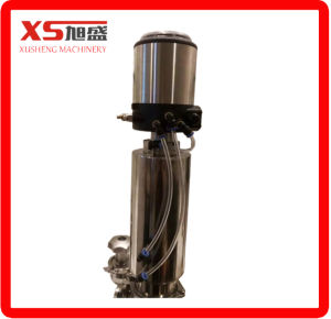 Dn40 Stainless Steel Double Seat Mixing Proof Valve with Stainless Steel Actuator pictures & photos