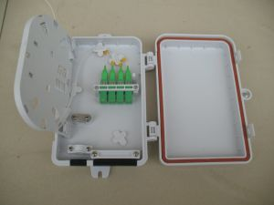Fiber Optic Terminal Box 4 Cores for Outdoor Use pictures & photos