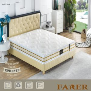 Gel Layer Memory Foam Latex Mattress pictures & photos