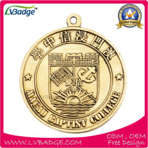 Custom Metal Sport Medal with Sublimation Lanyard pictures & photos