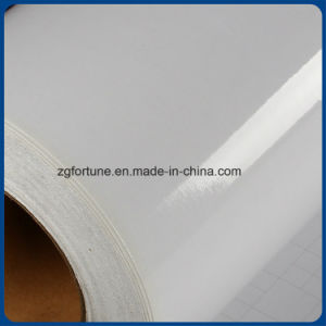 OEM High Quality Glossy Cold Lamination PVC Film Waterproof Inkjet Film pictures & photos