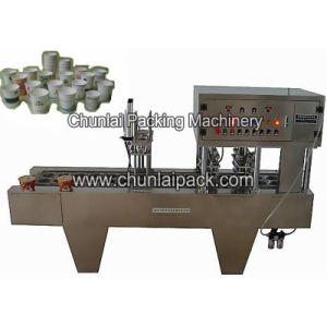 Instant Noodle Cup Sealing Machine pictures & photos