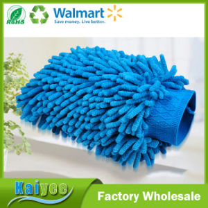 Different Type Household Chenille Cleaning Glove, Car Wash Glove pictures & photos