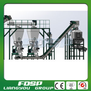 Automatic Wood Pellet Mill Production Line with High Capacity pictures & photos