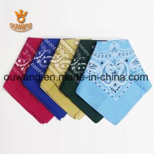 Multifunctional Cotton Bandana Wholesale 22*22 Inch pictures & photos