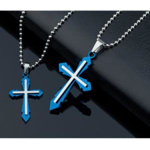 Religious Catholic Jewelry Fashion Men Stainless Steel Cross Pendant pictures & photos