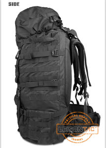 Large Capacity Load Bearing Backpack with Metal Frame ISO Standard Camping Hiking Bag pictures & photos
