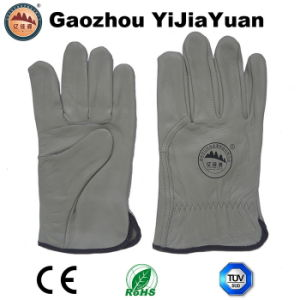 Top Grain Cow Leather Drivers Driving Gloves pictures & photos