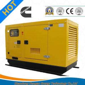 Electric Diesel Generator with Canopy pictures & photos