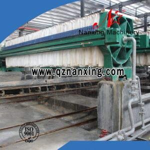 Dewatering Equipment of Chamber Filter Press Matching with Piston Pump pictures & photos