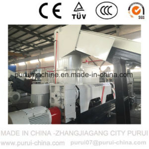 Waste PP Film Plastic Granulating Machine with PLC Touch Screen pictures & photos