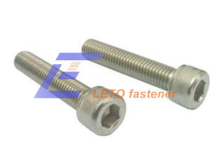 Hexagon Socket Head Cap Screw-Carbon Steel 8.8 Zinc Flake Coated pictures & photos