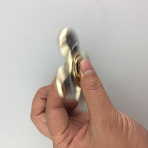 New Top Aluminum Alloy Metal Digit Finger Hand Fidget Spinner pictures & photos
